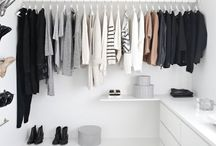 CLOSETS AND INSPIRATION