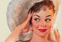 Pin Up - Gil Elvgren  / (American, 1914-1980)