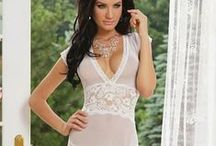 Long Gown & Robe / by Lushora Lingerie