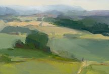 Landscapes paintings and photographs / Great landscape paintings