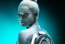 Tron and Tron legacy film and posters / Tron and Tron legacy