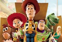 Toy story characters and movie posters / All toy story characters and animations