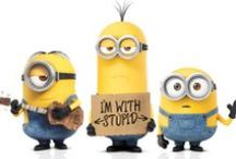 Minion Love / A board for my love of those little banana eating, evil lovin smart asses!