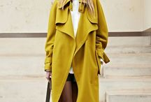 Large coat outfit
