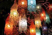 Illuminating Things / Candles,lamps,lighting