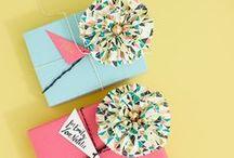 how to wrap gifts? (jak zabalit dárky?)