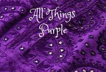 All things all shades of purple / Purples