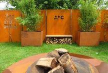 A+Concepts | Fencing Corten steel / Corten steel