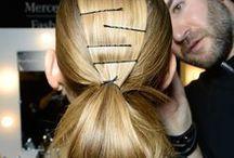 Seen on the runway / Vu sur les passerelles / Get inspired by the latest hair trends - directly from the runway! Inspirez-vous des tendances de l'heure, directement des passerelles!