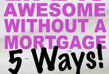 Pay Off Your Mortgage | Tips & Ideas for Getting Out of Debt / If you want to crush your mortgage, you can.  I believe you can.  Here are some tips for paying off your mortgage early: sell your house, move into a smaller house, switch to bi-weekly mortgage payments, pay extra each month, rent a room, or put your house on Airbnb for a weekend.  You might even start a side hustle to make extra money every month so you have extra income to apply to your mortgage principal.  See how we paid off our mortgage at twocuphouse.com.