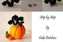 Polymer Clay - Tutorial - Halloween / https://www.facebook.com/MondoDiSisina