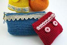 Uncinetto - borse e borsellini <> Crochet - bags and coin purses / by noemi marenco