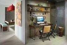 Przestrzeń do pracy | Small home workspace ideas