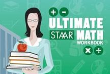 STAAR Workbooks: Math / These workbooks are designed to prepare students grades 1-8 for the State of Texas Assessment of Academic Readiness Test