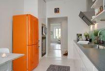 Kolorowa lodówka | Colour refrigerator