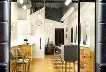Wnętrza publiczne - salony fryzjerskie