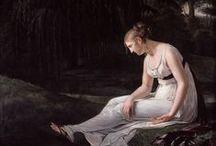 Constance Charpentier (1767-1849) / http://lespetitsmaitres.com/2014/10/constance-charpentier-1767-1849/
