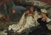 Edgard Maxence (1871-1954) / http://lespetitsmaitres.com/2014/12/vive-la-bretagne-vivent-les-bretonnes-dedgard-maxence/
