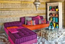 Dream House / Dream House , decor of my dream home in a colorful boho style