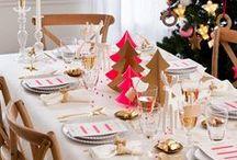 Aranżacje Bożonarodzeniowego stołu | Ideas for Christmas Tables