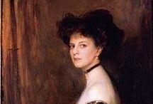 La Comtesse Greffulhe (1860-1952) / http://lespetitsmaitres.com/2015/01/les-portraits-disparus-de-la-comtesse-greffulhe/
