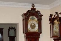 Liverpool Area Antique Clocks / Clocks built from around the area of Liverpool in the 18th and 19th century