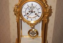 Antique Regulator Clocks   Precision Clocks / Very accurate antique clocks, clocks with mercury compensated and other temperature compensated pendulums 18th and 19th century examples