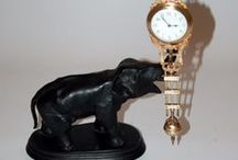 French Antique Clocks / 18th and 19th century French clocks including carriage or boulle clocks