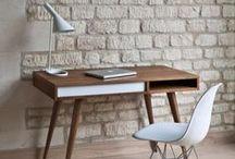 Домашний офис / Идеи как обустроить укромный рабочий уголок или полноценный офис у себя дома. Баланс на грани функциональности, красоты и эстетики.