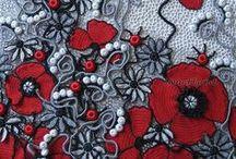 Crochet: Freeforms, inspirations