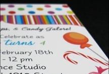 Celebrating Kids / Birth Announcements, Kids Birthday Invitations, Baby Announcements, First Communions, and more.