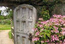 Fences, gates, doorways and entrances