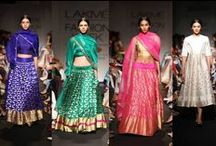 LFW Winter/Festive 2014 Day 2 / Cross-cultural flavours, jewel-toned ensembles, Krishna Mehta's love affair with soft Indian garments and Sanjay Garg's winning collection wrapped up an India-inspired showcase