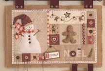 Christmas patchworks / vianočné inšpirácie