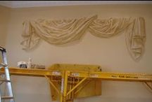 3D murals,Trompe l'oiel murals, crafts and ideas / Ideas for creating hand-made, tailor made murals, furniture, crafts