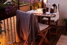 Balcony for a yogi