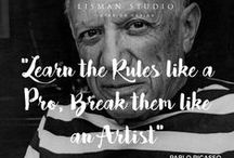 Lisman Quotes / Favorite inspirational quotes from the Lisman Studio Design Team! Spread the love!