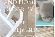 Tree Climber Creations / Wood Furniture and Home Decor by Tree Climber Creations