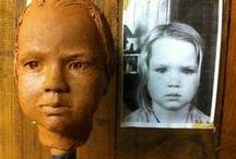 Portrait Sculptures / Commissioned busts.