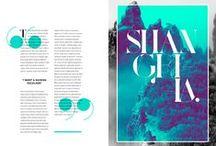 Editorial Design / by Elena A