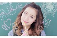 michelle phan / an amazing make up artist and beauty advisor. also gives great health tips like the pics and the captions below them are from michelle phan