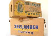 Vintage Food & Housewares Packaging / Various food packaging and vintage housewares packaging