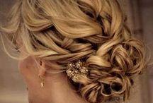 Brautfrisuren / Brautfrisuren, Hochsteckfrisuren, Haare,