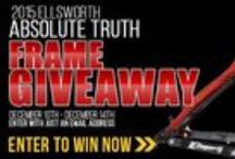 Ellsworth 2015 Absolute Truth Frame Giveaway / Enter to Win!!! / by Price Point