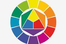 Farben / Komplementärfarben, Farben die im Farbkreis gegenüber liegen, Farbenspiel, Farbkombinationen