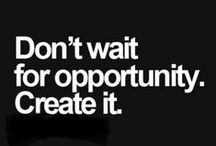 Entrepreneurship : Business / Quotes and Motivation to get your dreams BUILDING!
