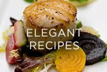 Elegant Recipes / Gourmet recipes perfect for pairing with The Hess Collection wines.