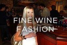 Fine Wine Fashion / Designer fashion and accessories, what to wear while wine tasting, black tie affairs