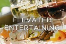 Elevated Entertaining / Tablescapes, bar set-ups, elegant party ideas