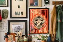 HOUSE / vintage, house, interior, furniture, old, mixed, trendpalette